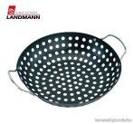 Landmann 13354 Teflon bevonatú kerek zöldség és burgonyakosár grillezett zöldségek készítéséhez