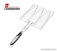Landmann 13429 INOX Időtálló rozsdamentes acél kivitelű grill halsütő