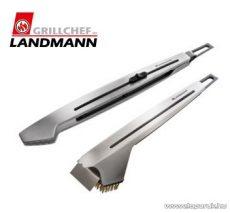Landmann 13457 INOX SELECTION Időtálló rozsdamentes acél kivitelű grillkészlet, 2 db / csomag - készlethiány