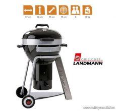 Landmann 31341 Black Pearl Comfort faszenes fekete gyöngy party gömbgrill (8 személyes)