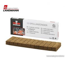 Landmann 0140 Grill gyújtókockák, 12 db-os szett