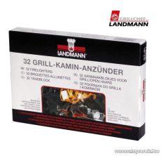 Landmann 0143 Grillgyújtő és kandallógyújtó kocka, 32 db-os szett
