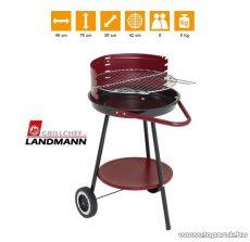 Landmann 0666 Faszenes 3 lábú körgrill, fix polccal (6 személyes) - készlethiány