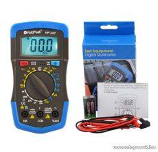 HOLDPEAK 36T Digitális multiméter, VDC, VAC, ADC, ellenállás, hőmérséklet, dióda, hFE, szakadás mérőműszer