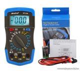 HOLDPEAK 33D Digitális multiméter, VDC, VAC, ADC, ellenállás, dióda, tranzisztor hFE teszt mérőműszer