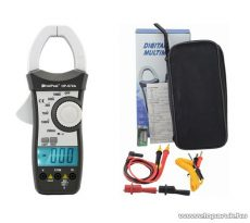 HOLDPEAK 870A Digitális lakatfogó, multiméter, 2 kijelzős, nagyáramú, VDC, VAC, AAC, ellenállás és dióda mérőműszer