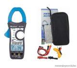 HOLDPEAK 870N Digitális lakatfogó, 2 LCD kijelzős multiméter, VDC, VAC, ADC, AAC, ellenállás, kapacitás, frekvencia, TRMS mérőműszer