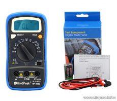 HOLDPEAK 830Z Digitális multiméter, VDC, VAC, ADC, AAC, ellenállás, kapacitás, frekvencia, hFE mérőműszer - megszűnt termék: 2016. január