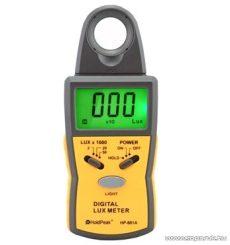 HOLDPEAK 881A Digitális fénymérő (fényerősségmérő) mérőműszer + hord táska, 0.1-50000 Lux, adattartás