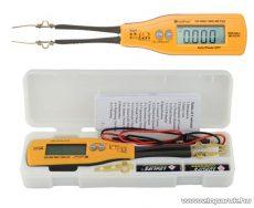 HOLDPEAK 990C SMD alkatrész ellenőrző, ellenállás, kapacitás, dióda, zener, és LED dióda ellenörző mérőműszer