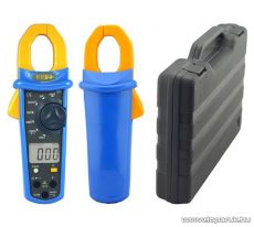 HOLDPEAK 6053 Digitális lakatfogó, multiméter kofferben, nagyáramú (2/1000A), VDC,VAC,AAC, ellenállás, szakadás mérőműszer