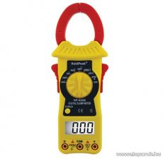HOLDPEAK 6206 Digitális lakatfogó, multiméter, nagyáramú, VDC,VAC, AAC, ellenállás és szakadás mérőműszer