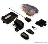 EASYCAR E6-A Autóriasztó, 1 nagy LCD + 1 db kiegészítő távirányítóval, kulcstartóval, rezgésézékelő funkcióval