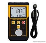 HOLDPEAK 130D Digitális, ultrahangos anyagvastagság mérő mérőműszer, 1.2-225mm, külső mérőszonda