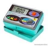 HOLDPEAK 4100 Digitális földelési ellenállás mérő mérőműszer LCD kijelzővel, 0-2000ohm, 0-30V mérési feszültség, földelőrúd