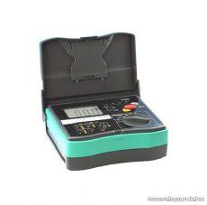 HOLDPEAK 5103 Digitális szigetelési ellenállás mérő mérőműszer + hord táska, 1000-5000VAC, 0.1Mohm-200Gohm, fázissorend