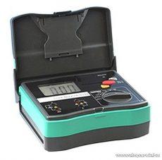HOLDPEAK 5105 Digitális szigetelési ellenállás mérő mérőműszer + hord táska, 250/500/1000VAC, 0.1Mohm-20Gohm