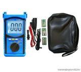 HOLDPEAK 6688B Digitális szigetelési ellenállás mérő mérőműszer + szövet hord táska, 500-5000VAC, 1Mohm-200Gohm