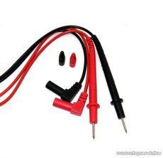 HOLDPEAK 8101 Univerzális mini mérőzsinór pár digitális multiméterekhez, piros/fekete, 60 cm - megszűnt termék: 2016. július