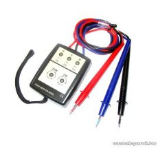 HOLDPEAK 8030 Háromfázisú fázissorrend és forgásirány tesztelő mérőműszer + mérőzsinór, 200-480VAC