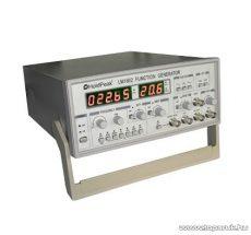HOLDPEAK LM1610 labor tápegység, függvényjel generátor, négyszög, háromszög és szinusz jel, 0.1Hz-10MHz, 0-5V, LED kijelzés