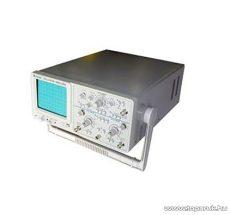 """HOLDPEAK LM650A - 2 csatornás analóg oszcilloszkóp, 6""""-os képernyővel, 0-50MHz, 5mV-5V/DIV érzékenység, 230VAC"""