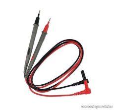 HOLDPEAK 8102 Kétszínű univerzális mini mérőzsinór pár digitális multiméterekhez, piros-szürke/fekete-szürke, 60 cm