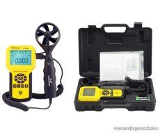 HOLDPEAK 836A Digitális szélerősség és hőmérsékletmérő műszer kofferben