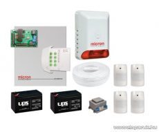 Micron Z4120C+LED Komplett vezetékes riasztórendszer