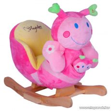 Beleülős, plüss pillangós hintás gyermek fotel (JR2585B) - készlethiány