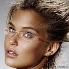 Olvasószemüveg + tok, 1 dioptria, piros (57041RD) - megszűnt termék: 2016. július