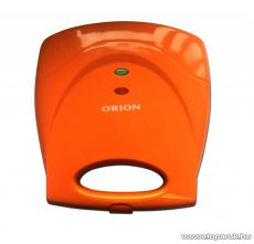 Orion OSWM-03 3 az 1-ben Szendvicssütő, gofrisütő és grillsütő, narancs