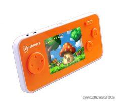 """OverMax Top kézi játékkonzol, 2,7"""" LCD, 180 db különböző játékkal, narancssárga - készlethiány"""