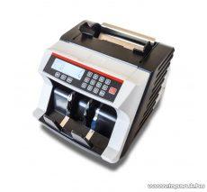 MC24 3300 Bankjegyszámláló, pénzszámláló gép (UV, MG, IR bankjegyvizsgálat), fehér/fekete
