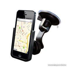 PURO iPhone 5 / 5s Tapadókorongos, autós telefon tartó, fekete - megszűnt termék: 2015. december