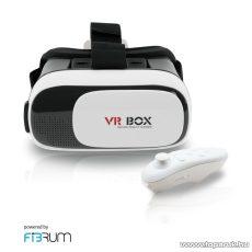 WayteQ VR BOX 2.0 + Fibrum virtuális valóság szemüveg okostelefonokhoz - megszűnt termék: 2016. november