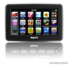 """WayteQ x880 4.3""""-os GPS navigáció, 8GB (navigációs szoftver nélkül) - megszűnt termék: 2015. június"""