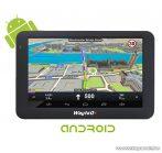 """WayteQ X995 Android 5""""-os GPS navigáció készülék, 8 GB + Sygic 3D Teljes Európa térképszoftverrel (élettartam frissítéssel)"""