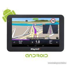 """WayteQ X995BT Android 5""""-os GPS navigáció készülék, 8 GB + Sygic Truck KAMIONOS navigációs szoftverrel - készlethiány"""