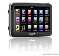 """WayteQ X980BT 5""""-os GPS navigáció, 8GB (navigációs szoftver nélkül) - megszűnt termék: 2015. szeptember"""