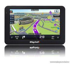 WayteQ x985BT GPS navigáció, 8GB + Sygic 3D Teljes-Európa térképszoftver - készlethiány