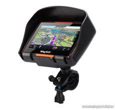 WayteQ xRIDER motoros GPS navigáció, 8 GB + Sygic 3D Teljes Európa térképszoftver - megszűnt termék: 2017. május