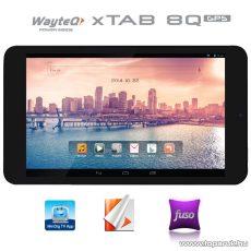 """WayteQ xTAB-8Q 8""""-os IPS tablet, 8GB, fekete (Android) - készlethiány"""