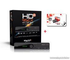 Wayteq HD-95CX MPEG4 DVB-T vevő + 12 hónap MindigTV EXTRA kártya - megszűnt termék: 2015. július