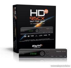 Wayteq HD-95CX MPEG4 DVB-T vevő - megszűnt termék: 2015. július