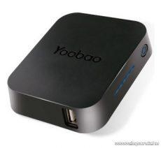 YooBao Magic Cube 4400 univerzális külső akkumulátor + LED lámpa, 4400 mAh - megszűnt termék: 2015. január