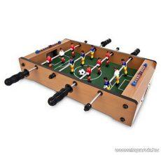 Mini fa csocsóasztal, asztali foci, 50 x 30 cm