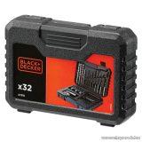 Black & Decker A7216 32 részes fúró és csavarozó készlet