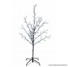 Kültéri világító fa dekoráció, virágzó cseresznyefa, 150 cm magas, 120 db hideg fehér leddel - készlethiány