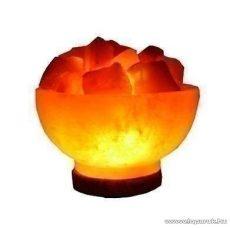 TŰZKEHELY sókristálylámpa (sólámpa), 2-4 kg tömegű sókristály, 15 W-os izzóval